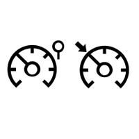 Kontrolna svjetla ograničivača/ regulatora brzine