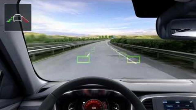Sustav upozorenja o izlasku iz prometne trake
